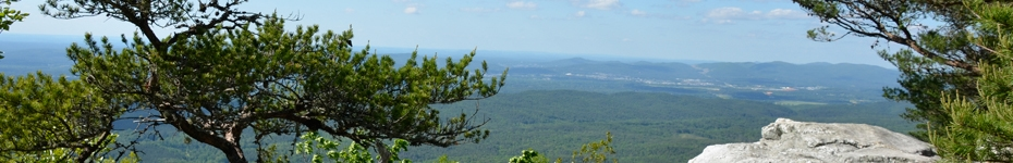 Beautiful Cheaha State Park!