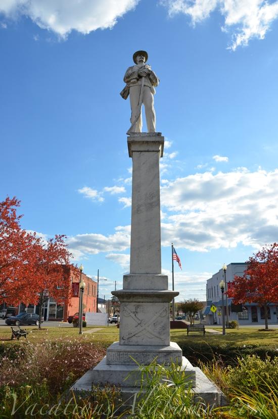 Major General John Horace Forney Statue Jacksonville Alabama