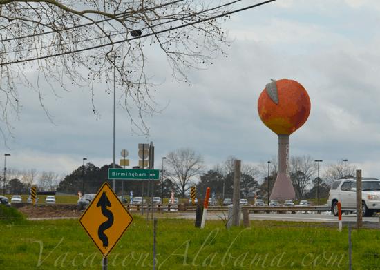 Worlds Largest Peach Clanton Alabama