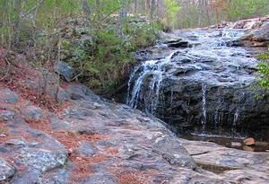 Moss Rock Preserve falls