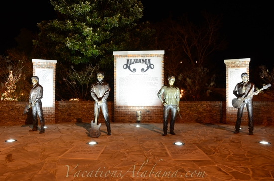 Bronze Statues Of The Band Alabama Fort Payne Alabama