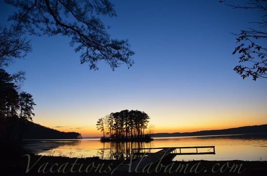 Lake Guntersville-Alabama Sunset