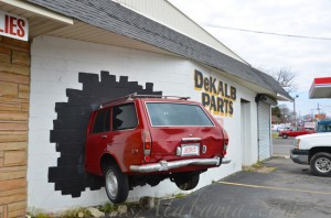 Dekalb Parts-Car in Wall