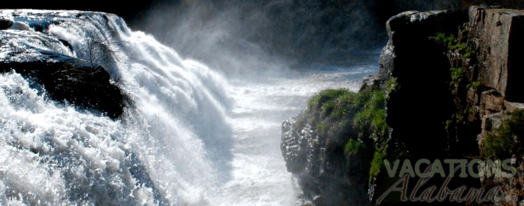 Highfalls Park-Dekalb County, Beautiful Alabama Waterfalls Spring Rains