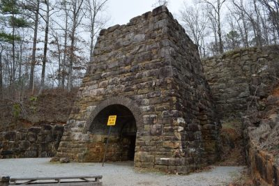 Historic Iron Furnaces In Alabama