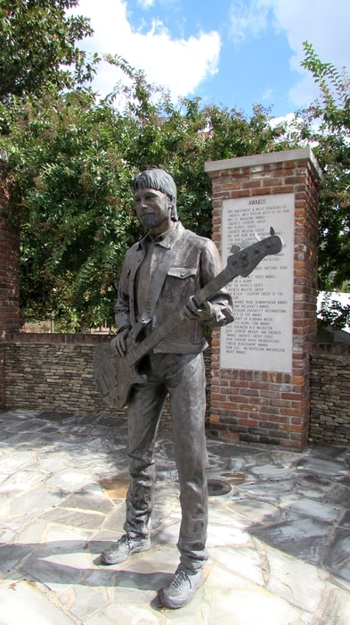 Bronze Statues Of The Band Alabama