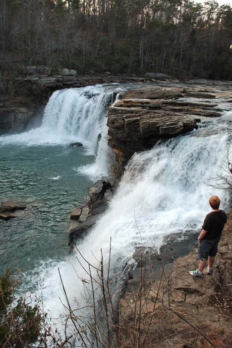 Little River FallsLittle River Falls-Little River Canyon National Preserve -NorthEast Alabama