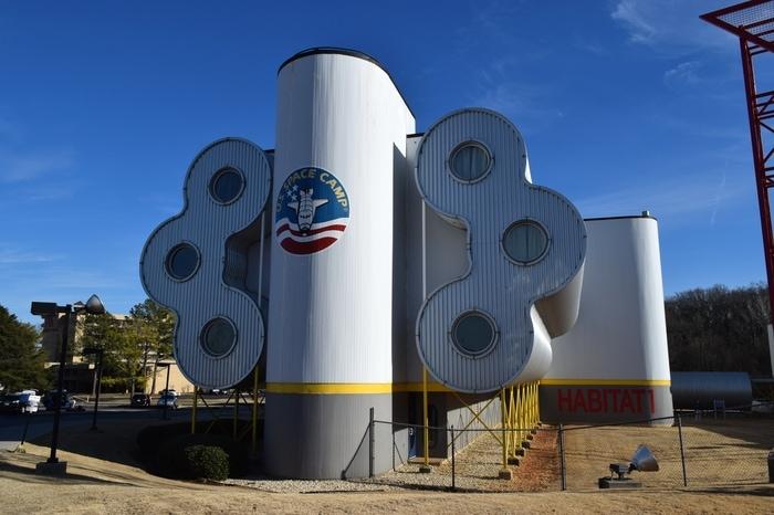 Habitat-1, US-Space and Rocket Center-Huntsville,Alabama