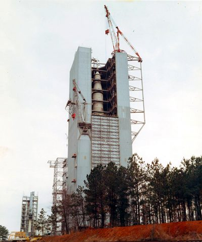 Saturn V Dynamic Test Pad