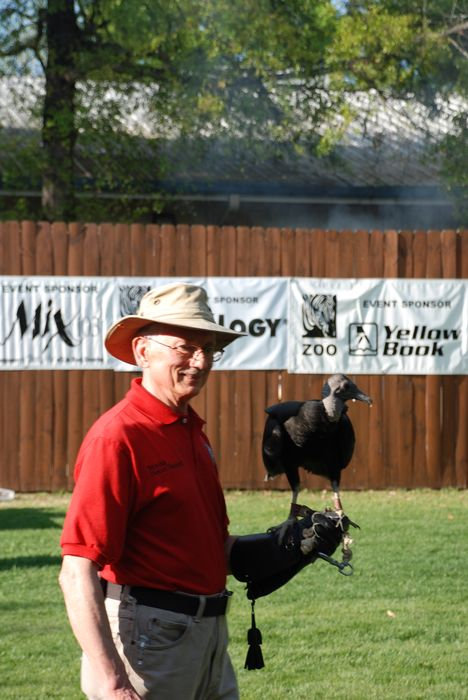 Montgomery Z00, Montgomery, Alabama- vulture with handler