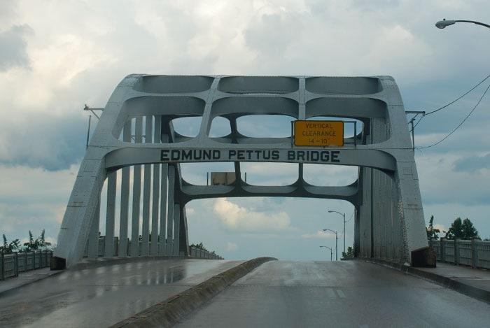Edmund Pettus Bridge- Selma, Alabama -National Historic Landmark