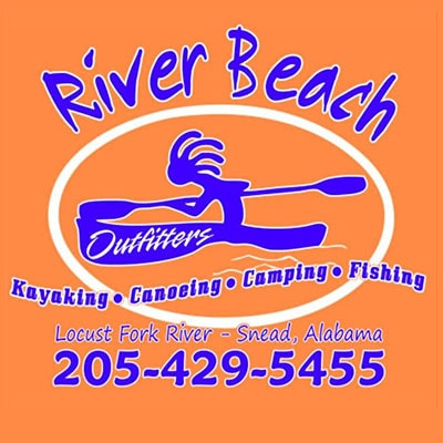 River Beach Outfitters Canoe kayak rental service Locust Fork River
