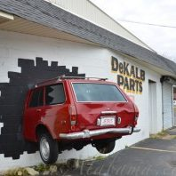 Dekalb Parts-Alabama-Car in Wall-Fort Payne