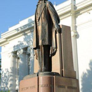 Jefferson Davis-Statue-Montgomery-Alabama