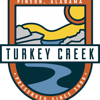 Turkey Creek Nature Preserve is located in Pinson, Alabama